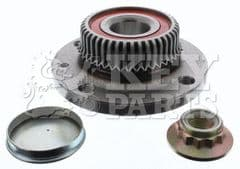 Wheel Bearing Kit Rear Complete With Hub