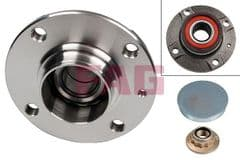 Wheel Bearing Kit With Hub Rear Axle