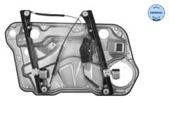 Window Regulator Front with Backing Plate