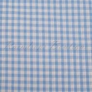 Gingham Pale Blue