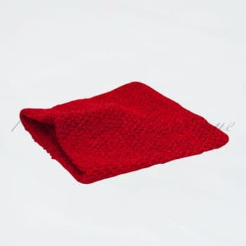 Lined Red Crochet Top 12 inches