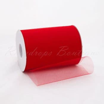 Red Tulle Roll 100 yards