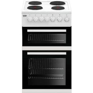 Beko EDP503W Double Oven Electric Cooker