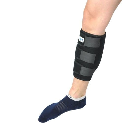 Adjustable Calf Support Extra Comfort Breathable One Size - Black