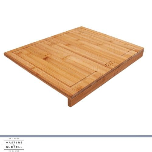 Bamboo Chopping Board with Counter Edge