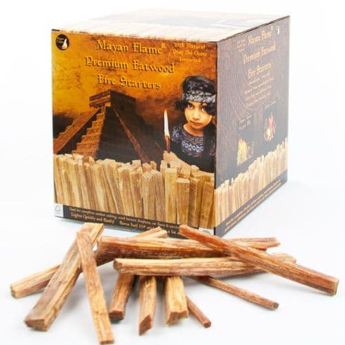 Mayan Flame Fatwood 100% Natural Fire Starters