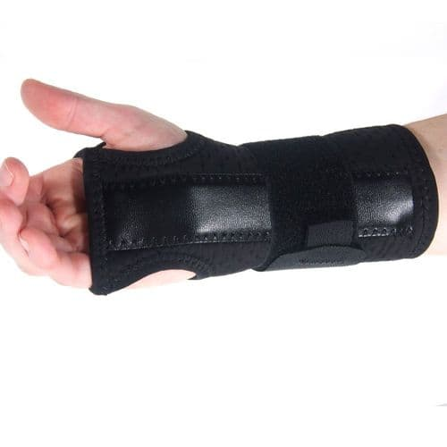 Neoprene Wrist Support Splint for Carpal & Cubital Tunnel, Sprains, and Arthritis Medically Approved