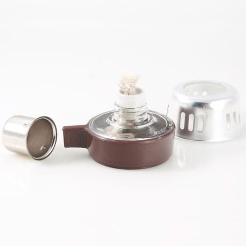 Burner with wick for Vacuum Coffee Master