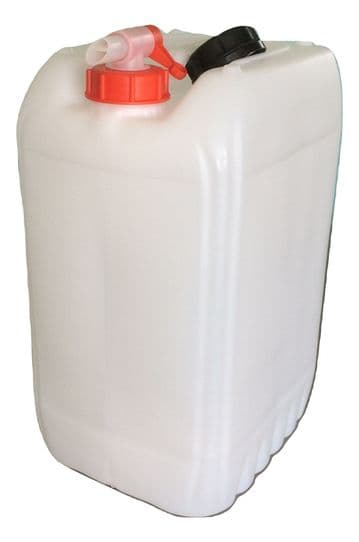 25 Litre Jerry Cans  <br> (Pack Sizes from 1 to 6)