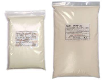 2kg Alumina Batt / Kiln wash with Kaolin (1:1)