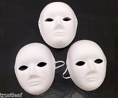 3 / 5 or 10 multipack of face masks