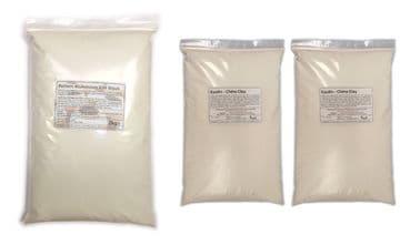 4kg Alumina Batt / Kiln wash with Kaolin (2:2)