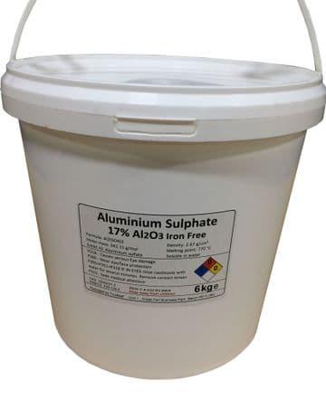 Aluminium Sulphate - Iron-free