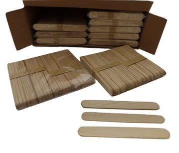 Jumbo Wooden Lolly Sticks