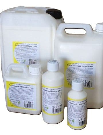 Prevulcanised Liquid Latex  Dipping Rubber 250ml -25 litre